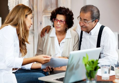 finance talks with aging parents